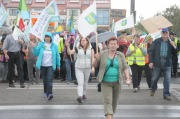 Protest Gmin Ościennych Przeciw Powiększeniu Opola