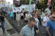 Protest przeciw powiększeniu Opola