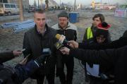 Protest Przeciwników Powięszkania Opola w Czarnowąsach