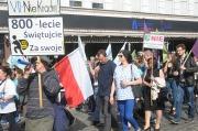 X Miesięcznica Pogrzebania Demokracji na Opolszczyźnie