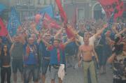 Wielka Feta z awansu do I Ligi i 30 lat zgody z Polonia Bytom!