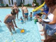 Bezpiecznie nad wodą - Basen letni Błękitna Fala