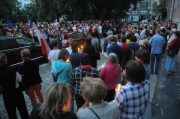 """""""Łańcuch Świetlny"""" - Protest przed Sądem Okręgowym w Opolu"""