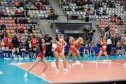 Niemcy 0:3 Włochy - Siatkarska Liga Narodów kobiet - Opole 2019