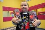 Najmłodszy wolontariusz opolskiego sztabu ma 5 lat