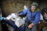 Bezdomni spędzają święta w samotności