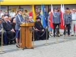 Wojewódzkie obchody święta policji w Oleśnie