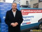 Witold Zembaczyński został posłem, ale posady na pływalni nie zwolni