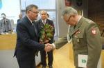 Płk Mirosław Karasek oficjalnie pożegnany przez wojewódzkich radnych