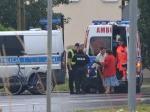 Niemodlin: Wyjeżdżając z posesji potrącił rowerzystę
