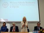 Sędzia Anna Maria Wesołowska w Opolu z wykładem o cyberprzemocy