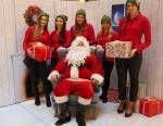Święty Mikołaj odwiedzi Solaris Center
