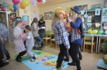 Mali pacjenci WCM bawili się na karnawałowym balu