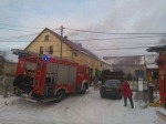 Cała rodzina w szpitalu po pożarze w Różynie