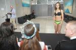 Piękne dziewczyny na castingu do konkursu Miss Opolszczyzny