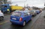Ogromne korki na ulicy Niemodlińskiej. Ruszyła przebudowa.