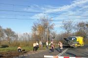 """Wypadek na przejeździe kolejowym w Brzegu. Nowy \""""Impuls\"""" do naprawy - 20191016075255_72941185_2752338n_1.jpg"""
