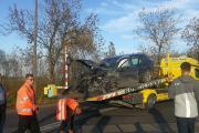 """Wypadek na przejeździe kolejowym w Brzegu. Nowy \""""Impuls\"""" do naprawy - 20191016075312_asas_0.jpg"""