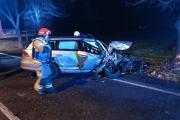 Poważne zderzenie BMW i Volkswagena. Ranna kobieta - 20200215202553_86729995_2724104o_5.jpg