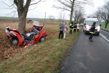 Tragiczny wypadek koło Namysłowa