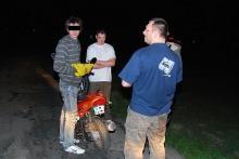 Pijany 16-latek wracał skuterem z imprezy