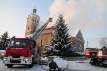 Pali się kościół w Jełowej - nowe informacje