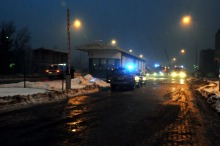 Ugaszono pożar magazynu w Cementowni Górażdże