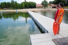 Nad bezpieczeństwem korzystających z kąpielisk czuwają ratownicy WOPR.