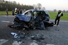 7 osób poszkodowanych po wypadku na obwodnicy Opola