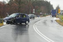 Śmiertelny wypadek w Skarbiszowie, trasa Opole-Brzeg już przejezdna