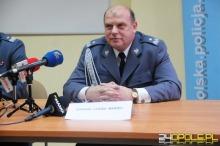 Nowy komendant opolskiej policji - nadinsp. Leszek Marzec.