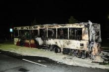 MZK o spalonym autobusie: ogień wybuchł w komorze silnika