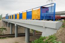 Sam wiadukt został wyremontowany - teraz gruntowna modernizacja czeka nasypy z obu stron.
