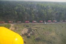 W ubiegłym roku w miejscu gigantycznego pożaru ćwiczyło ponad 500 strażaków. <i>(Fot. archiwum)</i>