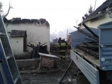 W Dziedzicach spłonęła stodoła