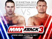 MMA ATTACK: Damian Grabowski zmierzy się ze Stavrosem Economou