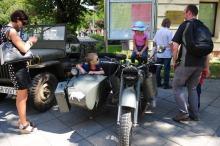 Dla najmłodszych największą atrakcją był piknik militarny.<i>(Fot: Dżacheć)</i>