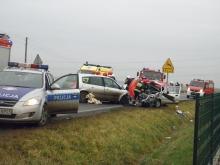 Tragiczny wypadek w Skarbiszowie