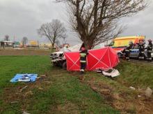 Tragiczny wypadek na trasie Opole-Brzeg