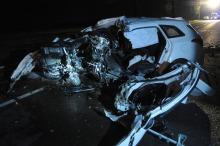 Kierowca hyundaia zginął po uderzeniu w drzewo