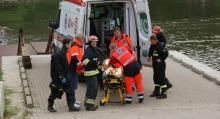 Przypadkowy przechodzień uratował tonącą kobietę