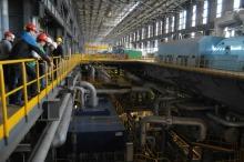 Wnętrze bloku energetycznego wzbudziło ogromne zainteresowanie zwiedzających.