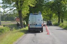 Motocyklista zginął w wypadku pod Ozimkiem