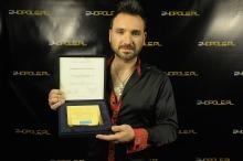 Mateusz Ziółko z nagrodą im. Anny Jantar. <i>(Fot. Pav)</i>