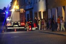 Pożar mieszkania w Niemodlinie