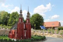 Wśród obiektów, które można obejrzeć jest m.in. miniatura opolskiej katedry.