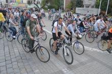 Masa Krytyczna na ulicach Opola