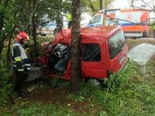 Wypadek na trasie Opole-Krapkowice, dwie osoby w szpitalu
