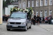 Motocykliści pożegnali kolegę, który zginął w wypadku