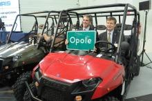 W Opolu otwarto fabrykę pojazdów terenowych Polaris